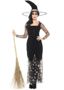 Disfraz de Bruja Nocturna para mujer