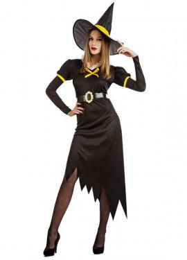 Disfraz de Bruja Retro para mujer