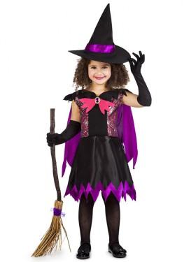 Disfraz de Bruja Telarañas para niña