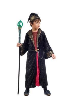 Disfraz de Brujo Aksar para niño