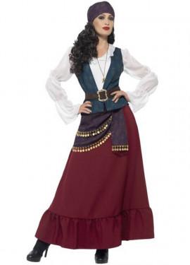 Fancy buccaneer costume per una donna