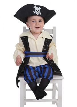 Disfraz de Bucanero Brocado para bebé
