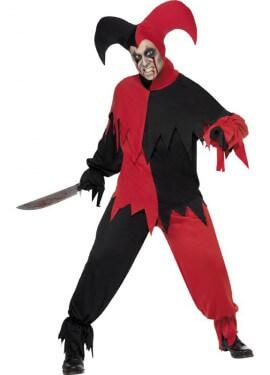 Disfraz de Bufón Aterrador para hombre