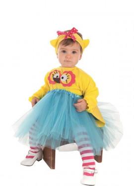 Costume da buhíta con grandi occhi per il bambino