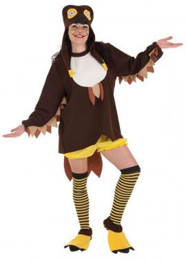 Disfraz de Búho Loca para mujer
