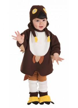Disfraz de Búhito Loco para bebé