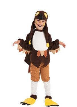 Disfraz de Búho Loco para niño