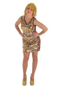 Disfraz de Burbuja con Lentejuelas para mujer
