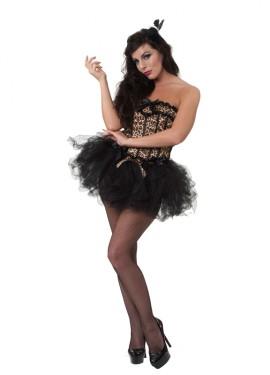 Déguisement de Femme Burlesque Léopard pour femmes plusieurs tailles
