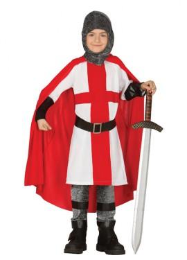 Déguisement de Chevalier Croisé pour enfants plusieurs tailles