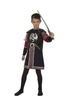 Disfraz de Caballero Medieval De Dragones para niño