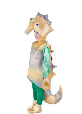 Disfraz de Caballito de Mar (Varias tallas)
