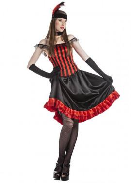 Disfraz de Cabaretera para mujer