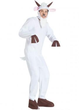 Disfraz de Cabra Blanca para adultos