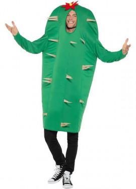 Disfraz de Cactus Verde para adultos