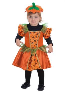 Disfraz de Calabacita de Halloween para bebé
