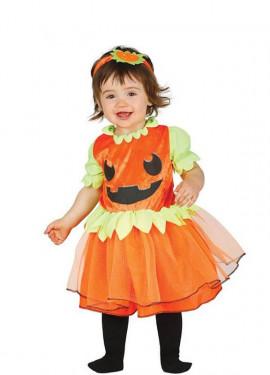 Costume da bambina con zucchine