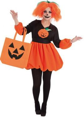Disfraz de Calabaza de Halloween para mujer