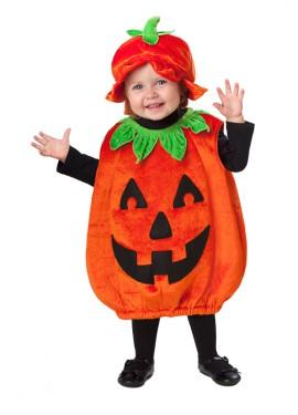 Disfraz de Calabaza sonriente para bebés de 12 a 24 meses para Halloween