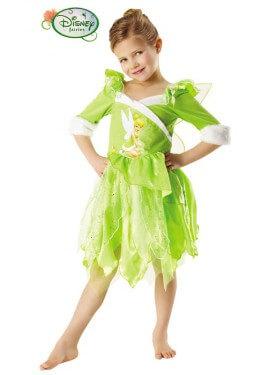 Disfraz de Campanilla Winter de Disney para niña