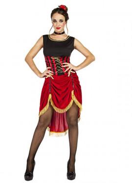 Disfraz de Can Can Madcap para mujer