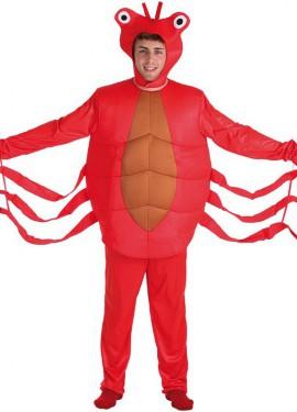 Disfraz de Cangrejo para Hombre