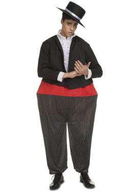 Disfraz de Cantaor Cordobés Gordito para hombre