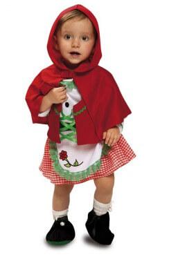 Disfraz de Caperucita para bebé