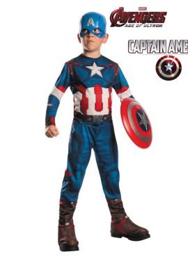Disfraz de Capitán América de los Vengadores 2 para niños