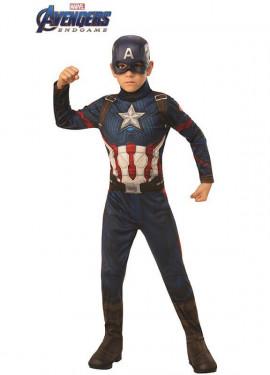 Disfraz de Capitán América Vengadores: Endgame para niño