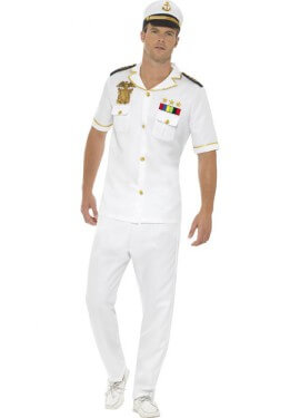 Disfraz de Capitán de barco para hombre