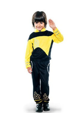 Disfraz de Capitán galáctico para niño
