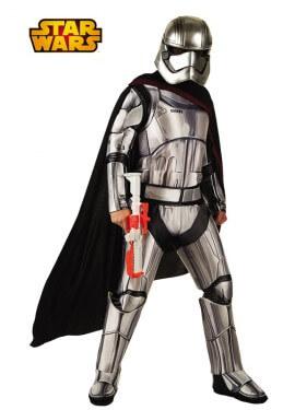 Disfraz de Capitán Phasma deluxe de Star Wars VII para hombre
