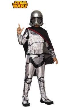 Disfraz de Capitán Phasma deluxe de Star Wars VII para niños