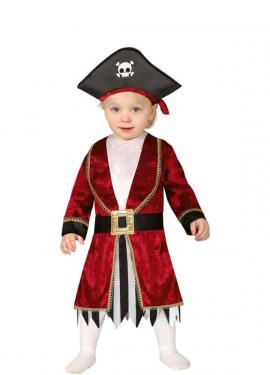 Disfraz de Capitán Pirata para bebé