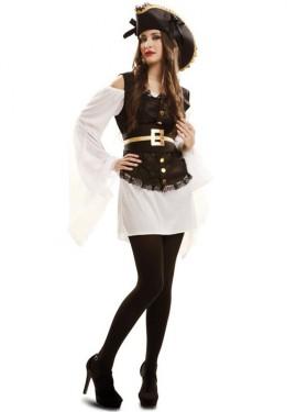 Disfraz de Capitana Oro para mujer