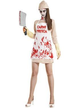 Disfraz de Carnicera Asesina para mujer