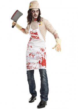 Disfraz de Carnicero Asesino para hombre