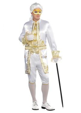 Disfraz de Casanova para hombres en talla estándar M-L