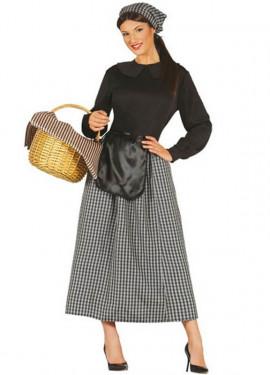 Costume da donna in castagno per natale