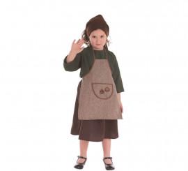 Disfraz de Castañera Otoño para niña