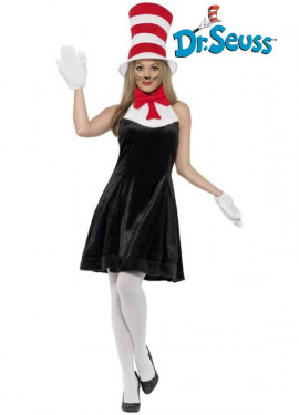 Disfraz de Cat in the Hat para mujer