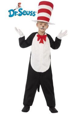 Disfraz de Cat in the Hat para niños