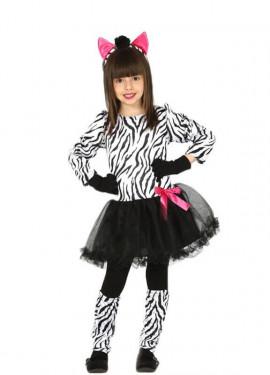 Disfraz de Cebra Coqueta para niña