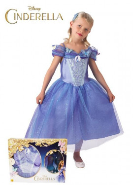 Disfraz de Cenicienta con zapatos de Disney para niña