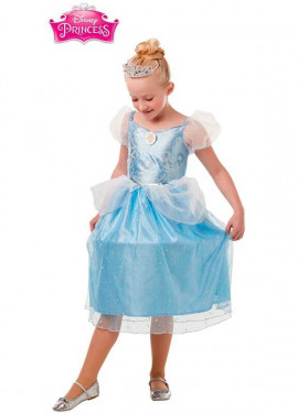 Disfraz de Cenicienta Deluxe para niña