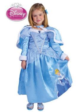 Disfraz de Cenicienta Winter de Disney para niña