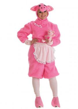 Disfraz de Cerdita CON Peluche para mujer