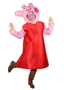 Disfraz de Cerdita con vestido