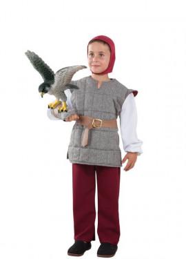 Disfraz de Cetrero Gris para niño